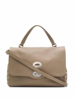 Zanellato сумка-тоут Postina с заклепками ZA00PEL0612018T7