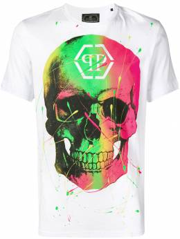 Philipp Plein футболка с изображением черепа P19CMTK3305PJY002N
