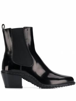 Tod's ботинки Gommino на блочном каблуке XXW10C0CG90AKTB999