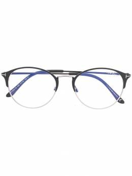 Tom Ford Eyewear очки в круглой оправе FT5541B