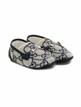 Gucci Kids лоферы с узором GG 5811489SF90