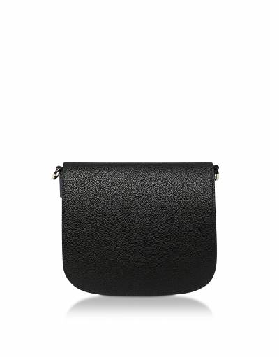 Patricia Visetos Leather Colorblock Small Shoulder Bag MCM