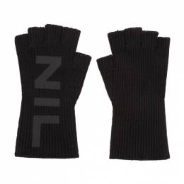 Julius Black Nilos Fingerless Gloves 680ACU2