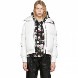 Moncler White Down Inde Jacket E20934591605C0063
