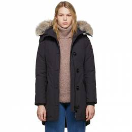Canada Goose Navy Down Rossclair Parka 2580L