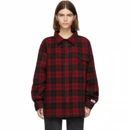 Vetements Red Over Your Hoodie Shirt UAH20SH714