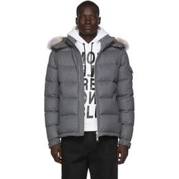 Moncler Grey Down Allemand Jacket E2091 40918 26 V0054