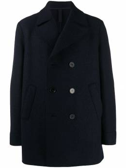 Harris Wharf London двубортное пальто C9314MLC