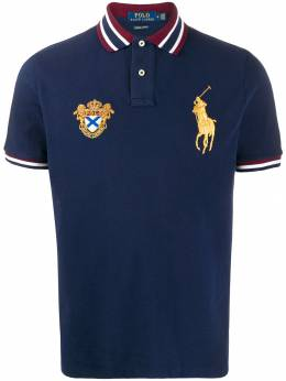 Polo Ralph Lauren рубашка-поло с вышивкой 710762406001