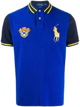 Polo Ralph Lauren рубашка-поло с вышивкой 710760249001