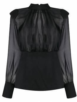 Federica Tosi прозрачная блузка FTI19BL0100CH0006