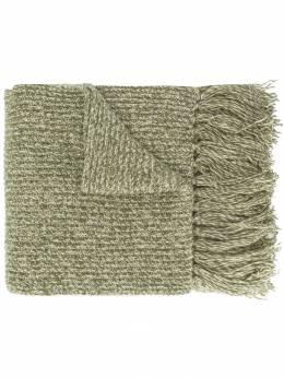 Ami Paris длинный вязаный шарф H19K605011