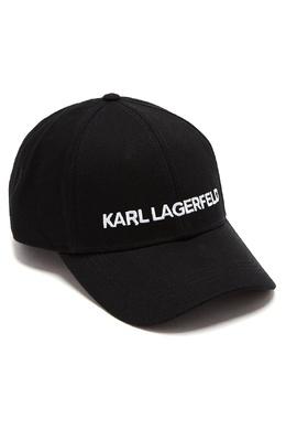 Черная бейсболка с вышитой надписью Karl Lagerfeld 682157079