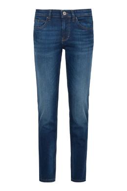 Синие джинсы с декоративным эффектом Strellson 585157006