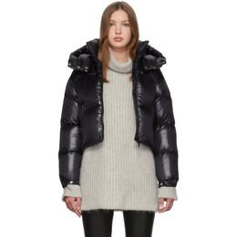Duvetica Black Down Diadema Coat 192-D5030004S00-12300