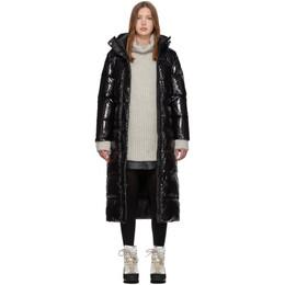 Duvetica Black Down Zuben Coat 192-D5030018S00-12310