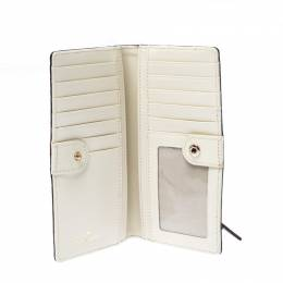 Kate Spade Cream Leather Flap Wallet 233160