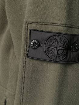 Stone Island Shadow Project embroidered concealed pocket sweatshirt MO691960107
