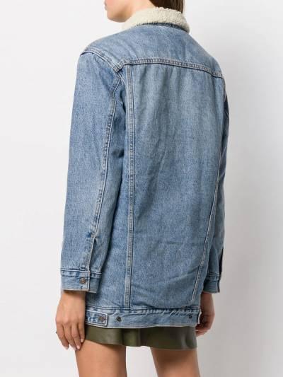 Levi's джинсовая куртка оверсайз 86196 - 4