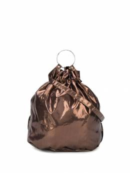 Mm6 Maison Margiela сумка-ведро с ручкой-кольцом S41WA0032P2653