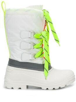 Dsquared2 ботинки Ski Fluo Sonar на шнуровке SBM000611700001