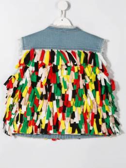 Stella McCartney Kids - декорированный джинсовый жилет 863SNK35955535660000