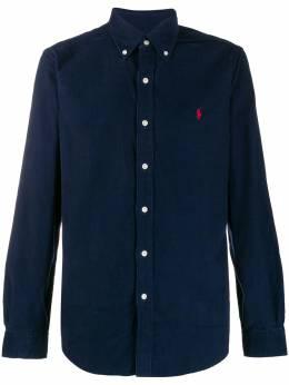Polo Ralph Lauren вельветовая рубашка с вышитым логотипом 710767119