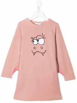 Stella McCartney Kids платье Halloween Bat 566241SNJ67