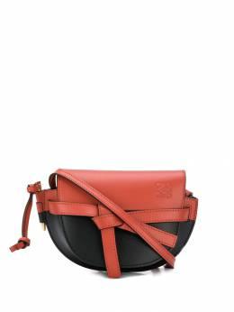 Loewe мини-сумка Gate в стиле колор-блок 33154U62