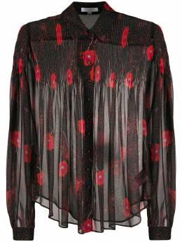 Equipment рубашка Jaslyn с цветочным принтом 193005648TP03175
