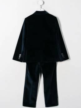 Paul Smith Junior - бархатный костюм-двойка 95305869550659600000
