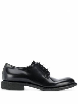 Del Carlo туфли на шнуровке 10801POLISHED