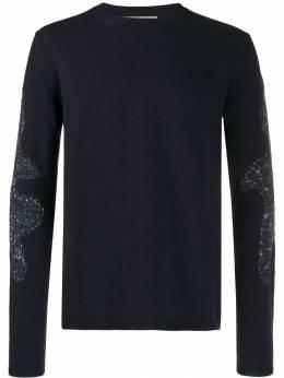 Comme Des Garcons Shirt джемпер с контрастными вставками W27505