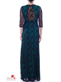 Платье Lanvin, цвет бирюзовый, черный 1373699