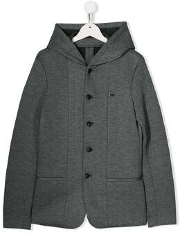 Emporio Armani Kids куртка с капюшоном 6G4GJ94JHVZ