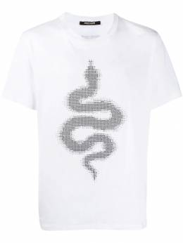 Roberto Cavalli футболка Glass Serpent INR618JD060