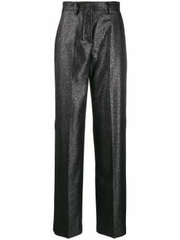 Pt01 строгие брюки широкого кроя с блестками CDVSNCZ00STDEX09