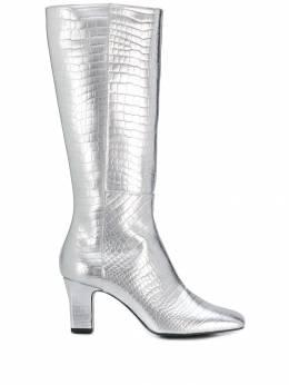 Les Petits Joueurs сапоги с заостренным носком и эффектом металлик BAOVC25