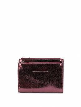 Mm6 Maison Margiela кошелек с эффектом металлик S41UI0060P2804