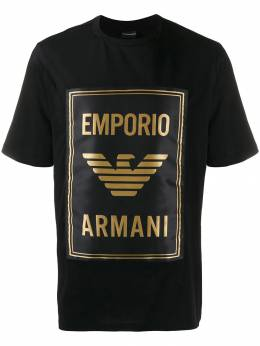 Emporio Armani футболка с логотипом 6G1TE01J00Z