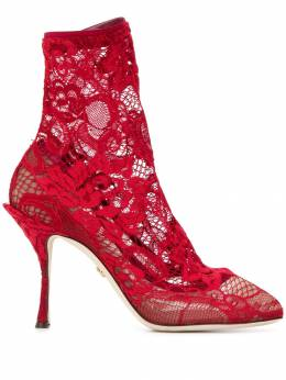 Dolce&Gabbana кружевные ботильоны CT0524AJ315