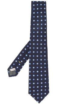 Canali галстук с цветочным узором 18HJ02260