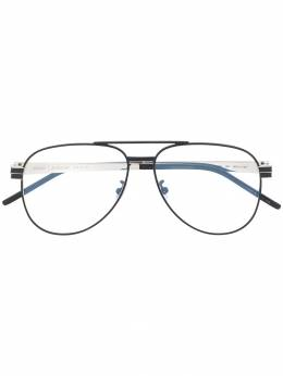 Saint Laurent Eyewear очки-авиаторы SLM54 SLM54