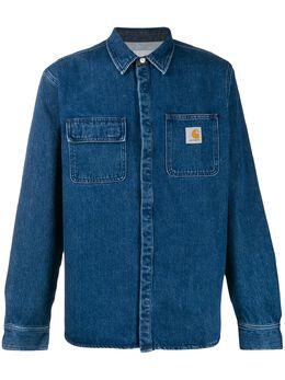 Carhartt Wip джинсовая куртка-рубашка Salinac I023977