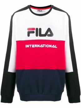 Fila толстовка в стиле колор-блок с логотипом 684586