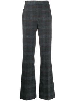Essentiel Antwerp брюки широкого кроя в клетку TELLME