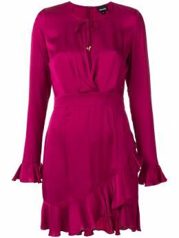 Just Cavalli платье с оборкой S02CT0790N39013