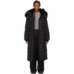Mackage SSENSE Exclusive Black Down Jada Coat JADA-SSR