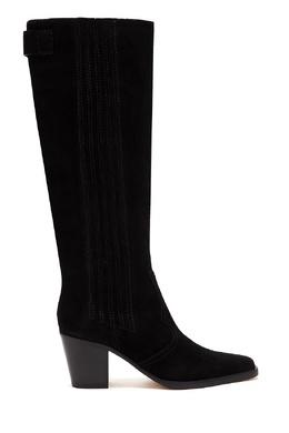 Черные сапоги в стиле вестерн Ganni 2979157803