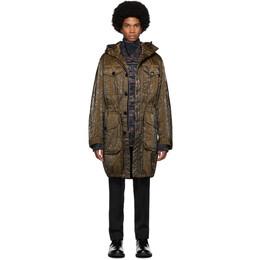 Dries Van Noten Brown Quilted Jacket 20502-8516-703